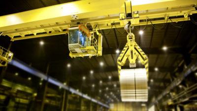 Gantry crane structural safety inspection